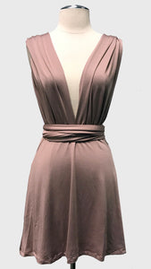 Lilac multi-tie infinity dress | Bloom Boutique