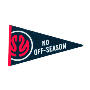 No Off-Season Felt Magnet