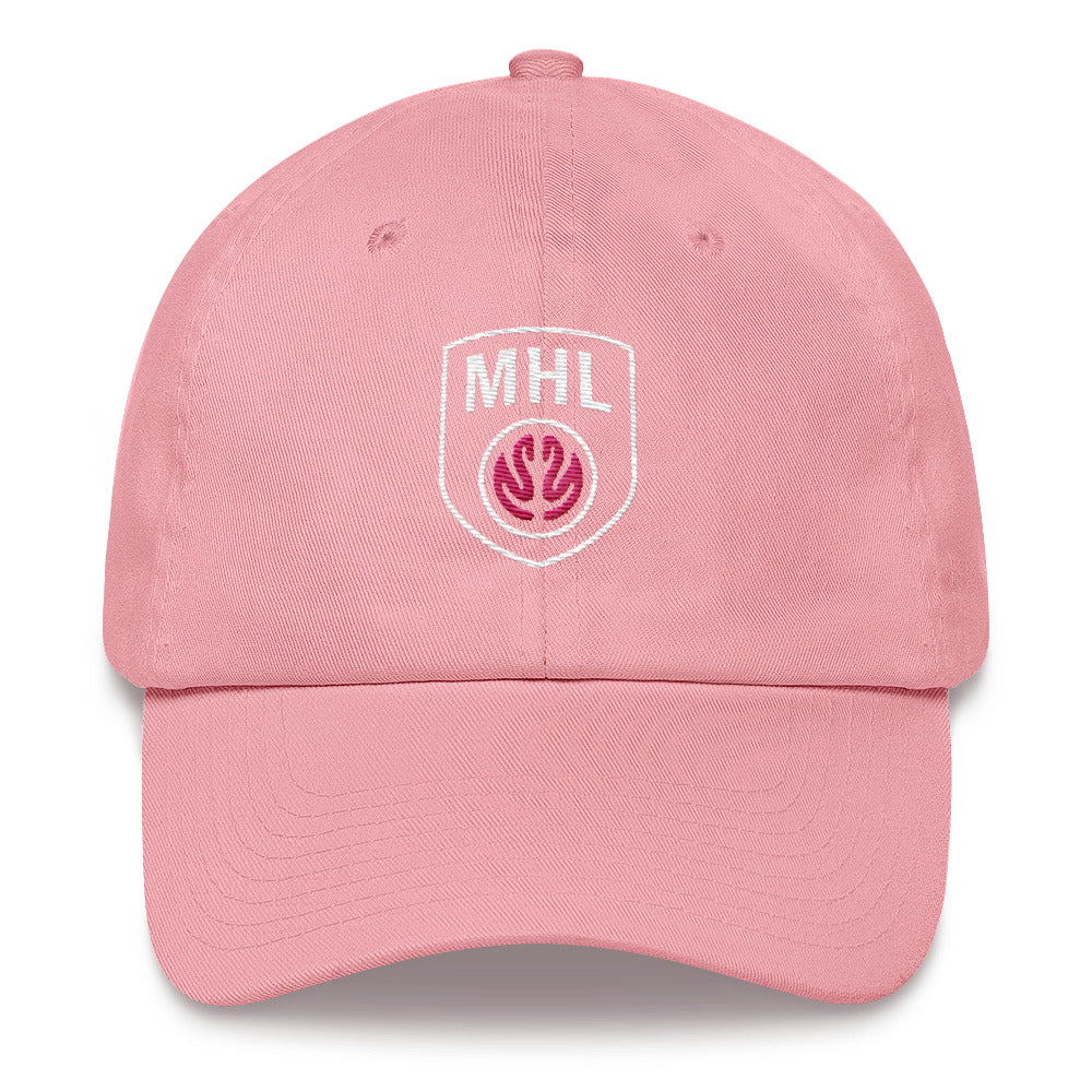 MHL Shield Dad hat (Pink)