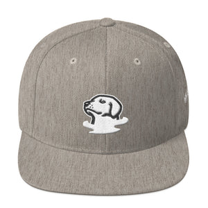 Foggy Dogs Mascot Snapback Hat (Heather)