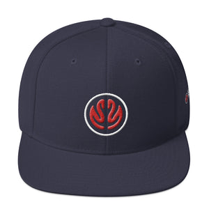 MHL Brain Snapback Hat (Navy)