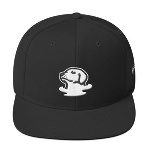 Foggy Dogs Mascot Snapback Hat (Black)