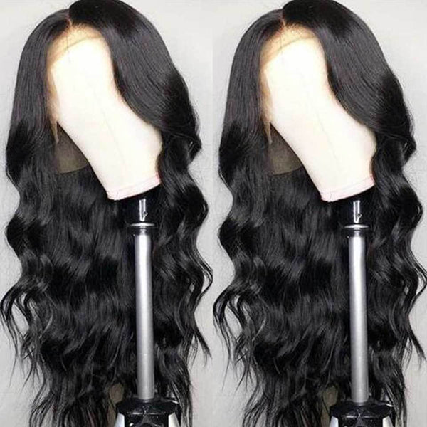 HOT!140% Density Human Hair Body Wave Wigs|Black Women Malaysian Wig