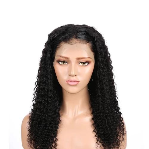 Brazilian Water Wave Frontal 360 Lace Wigs | Black/Blonde/Gray/Reddish Human Wig