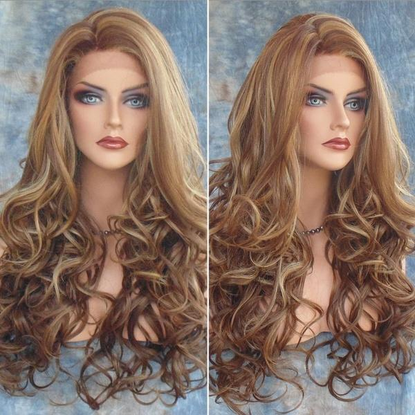 Sexy Women Curly Big Spiral Wave Hair Cosplay Costume Long Wig