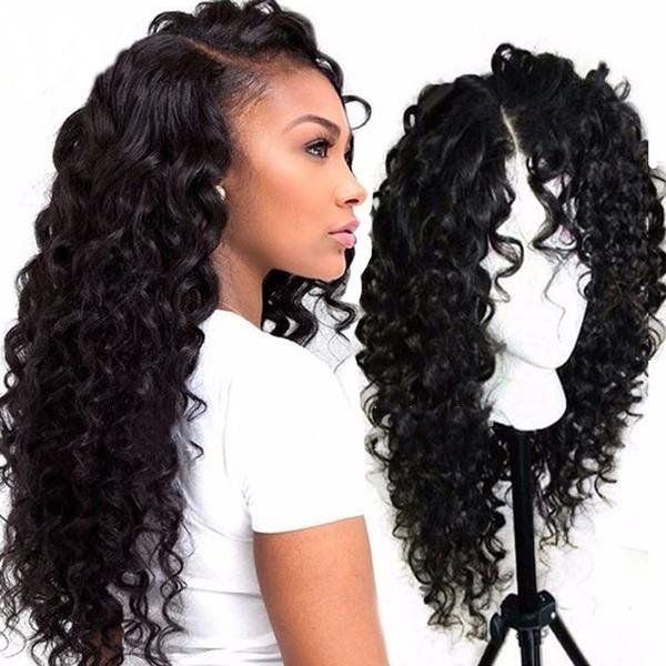 Afro Kinky Curly Lace Front Wig |Natural Hairline Glueless Lace Wigs