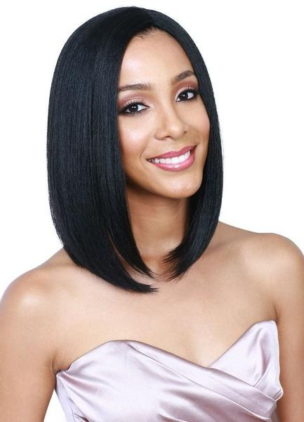 Virgin Brazilian Silk Top Full Lace Wigs | Bob Lace Front Straight Wig