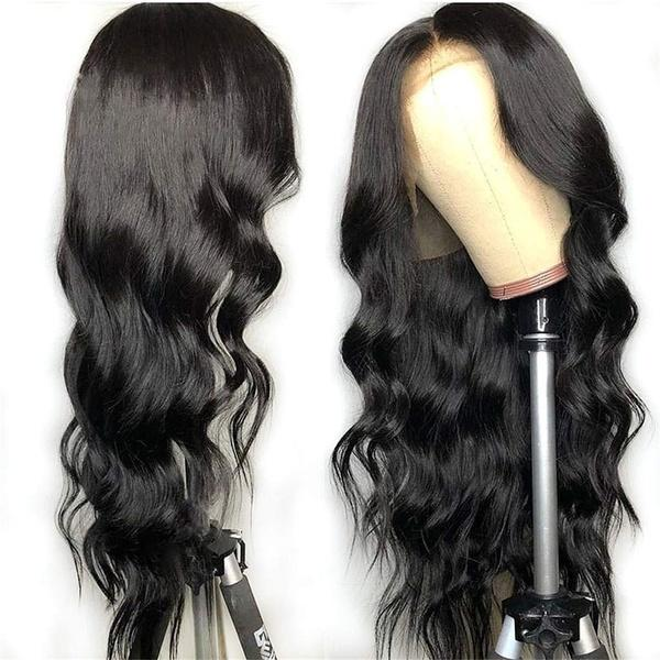 Pre Plucked Hairline Brazilian Body Wave Lace Frontal |Wig Lace Front Human Hair Wigs