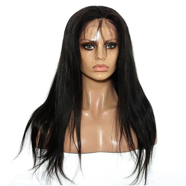 Brazilian Virgin Lace Front Wigs | Peruvian Virgin Hair | Straight Full Lace Wigs