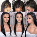 Brazilian Virgin Hair Wig | Glueless Lace Front Wigs | Long Silky Straight Baby Hair