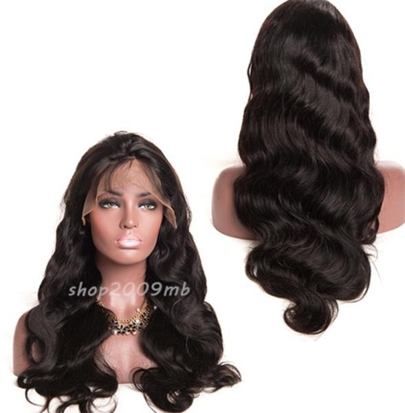 Glueless Front Lace Women Full Wig Wave Wavy Wig