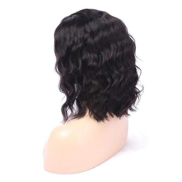 Human Hair Wigs |  Lace Front Wigs |  Short Wave Women Short Bobs Wavy Wigs