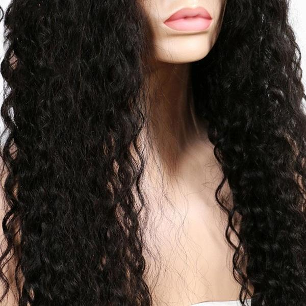 Long Curly Hair Hair Wig |Women's Small Wave Curly Wigs