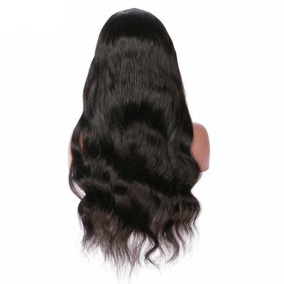 Fashion Big Wave Human Hair Wigs | Long Curly Wavy Full Hair Wigs