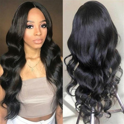 Chocolate Big Wave Long Curly Hair|High Temperature Silk Wigs