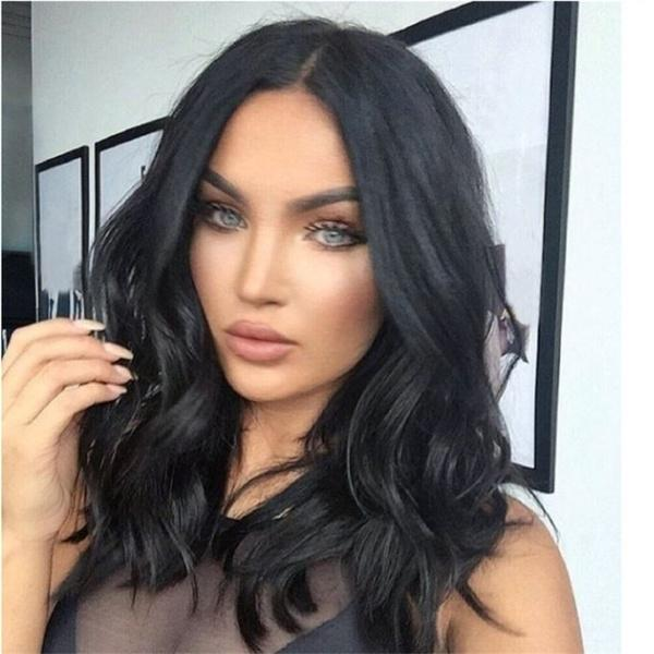2019 Fashion Short Hair Bob Wig | Sexy Short Curly Natural Hair Wig