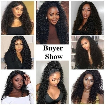 Lace Front Wig Glueless Heat Resistant Female Curly Hair