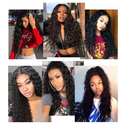 Long Curly Hair Wigs | Heat Resistant Wig | Women Middle Part Heat Resistant Hair
