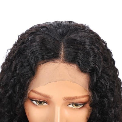 Peruvian Curly Human Hair Wig | Glueless Lace Front Human Hair Wig