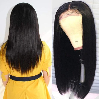 Hair Brazilian Straight Hair | Lace Front Wig | Black Women Human Hair