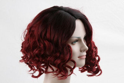120% Density Short Curly Bob 360 Lace Fashion Wig | 100% Human Wig