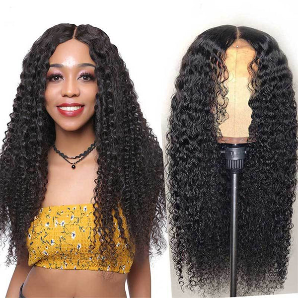 Curly Lace Wig PrePlucked Baby Hair |140% density Remy Lace Front Human Hair Wigs