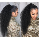 Beautiful Fluffy Curly 360 Lace Wig 100% Virgin Human Wig | Black/Brown/Reddish Wig