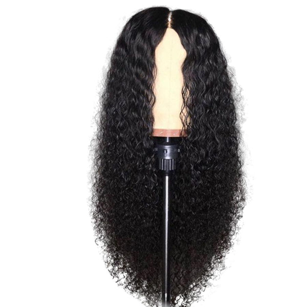 kinky curly lace frontal wigs | virgin Brazilian 100% human hair curly lace front wig