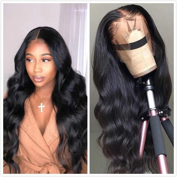 360 Lace Frontal Wigs Pre Plucked With Baby Hair Brazilian Body Wave | Human Hair Wig