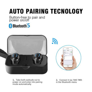 Wireless Earbuds IP65 Waterproof