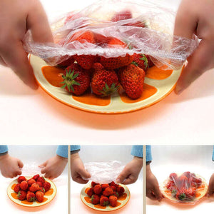 100 PCS/PACK Plastic Wrap