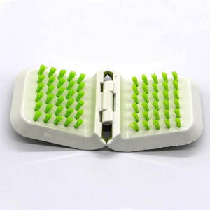 Double-Sided Knife Cleaning Brush