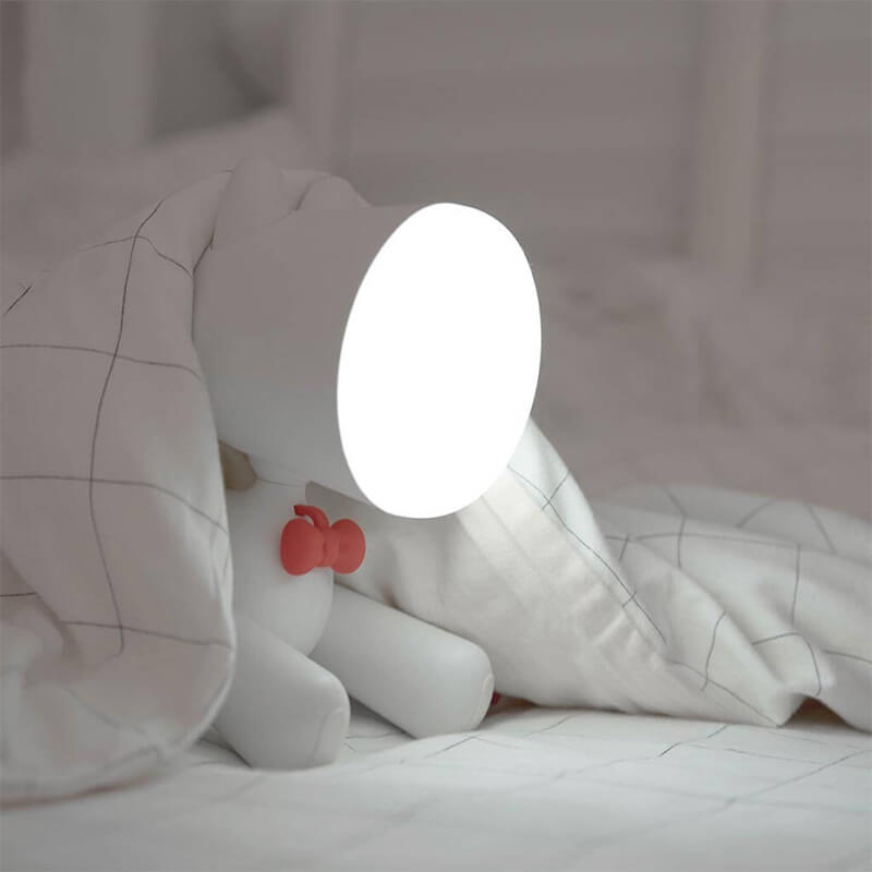 DIY Creative Puppy Night Light | Dog Desk  Lamp | USB Charging | 2000mAh