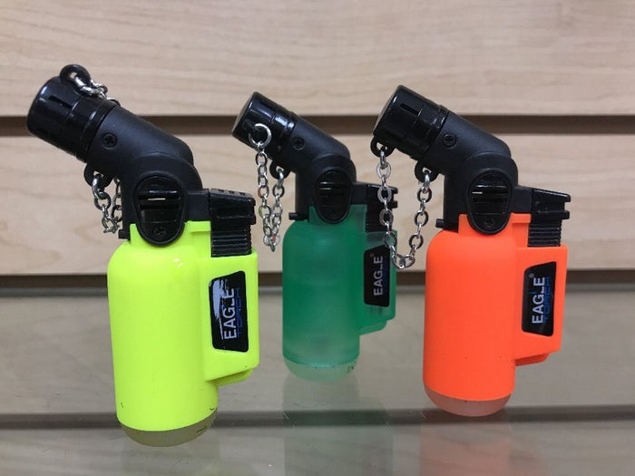 3x Eagle Angle Torch Adjustable Lighter Random Color Excellent Quality