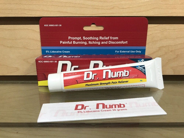 Dr Numb Topical Anesthetic 5 Skin Numb Cream Waxingmicroblading