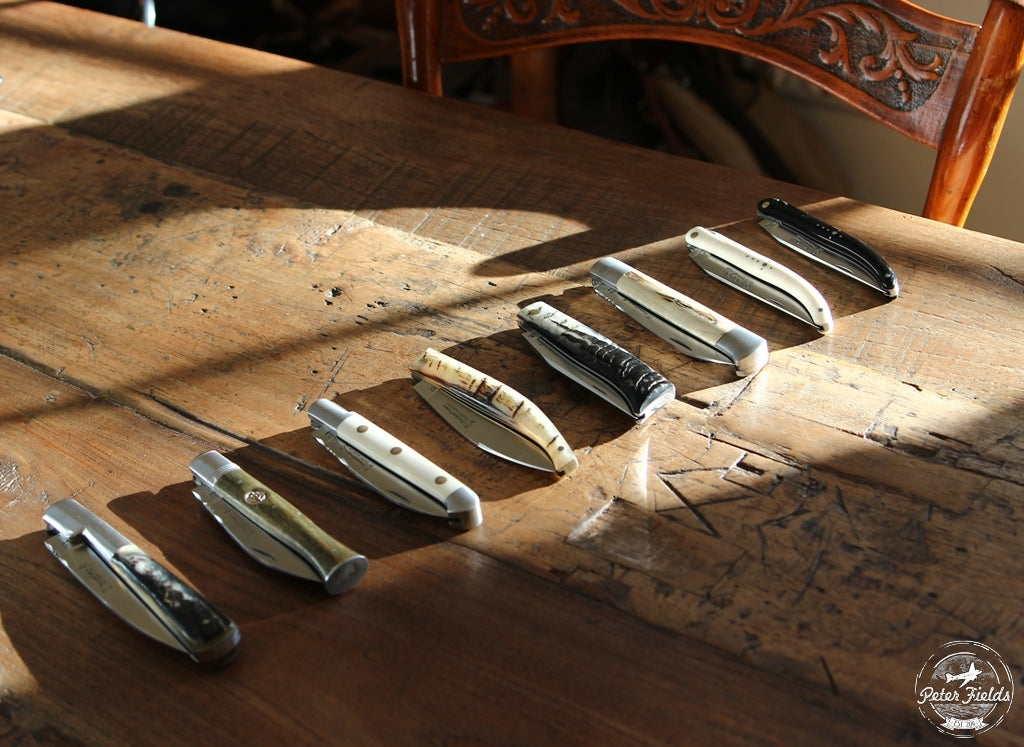 Pocket knives have a long tradition…