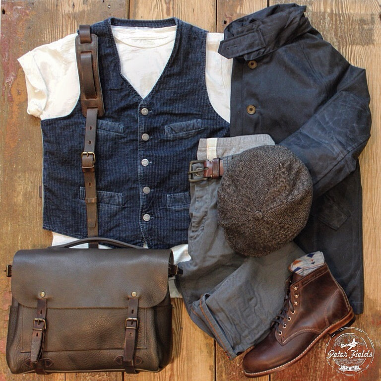 The new arrived vest from Nudie Jeans with…