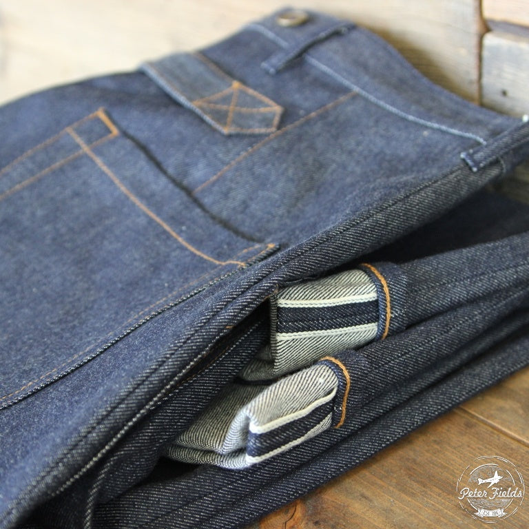 "New Online! Le Pantalon ""Cargo Denim Selvedge"""