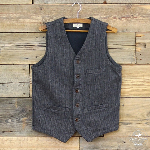 Bedford Twill Urban Vest | Japan Blue | Berlin