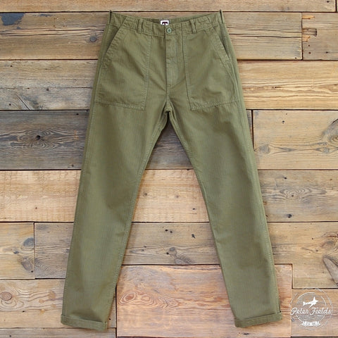 Tellason - Fatigue Pant Military Herringbone