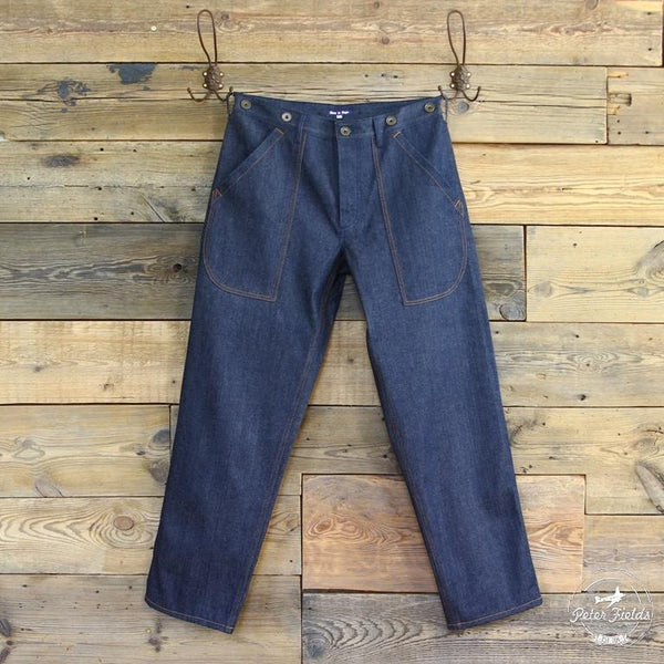 "Le Pantalon ""Cargo Denim Selvedge"""