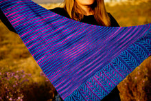 Load image into Gallery viewer, Lines and Vines Shawl Kits