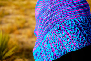 Lines and Vines Shawl Pattern