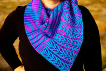 Load image into Gallery viewer, Lines and Vines Shawl Pattern