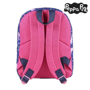 School Bag Peppa Pig Blue - lovelogostore