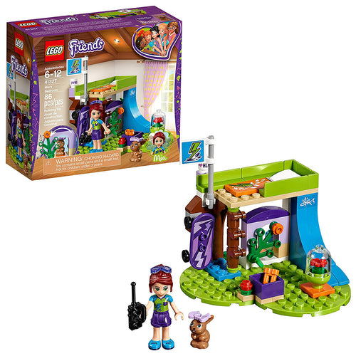 LEGO Friends Mia's Bedroom Building Set (86 Piece)
