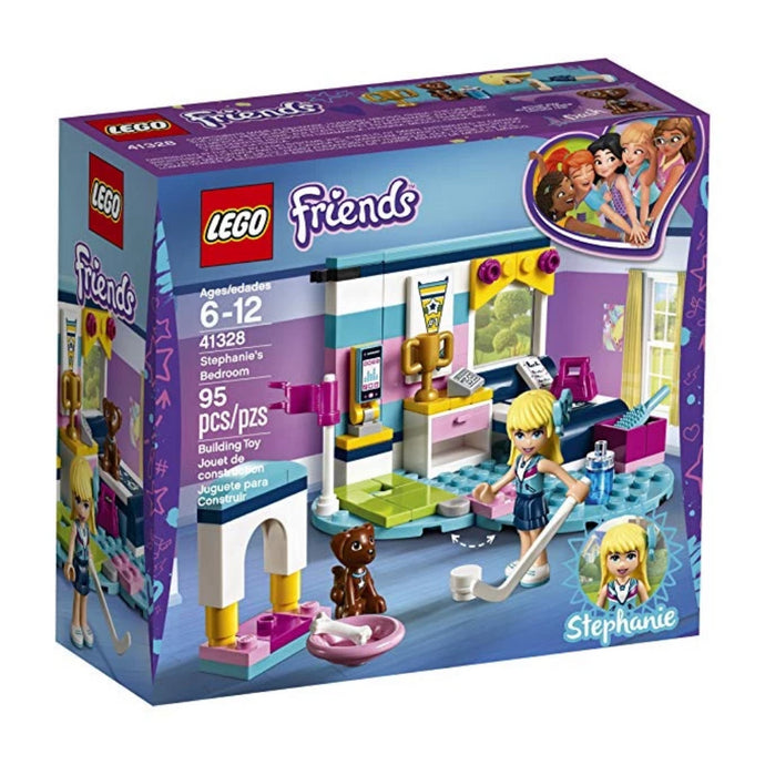 LEGO Friends Stephanie's Bedroom 41328 Building Set (95 Piece)