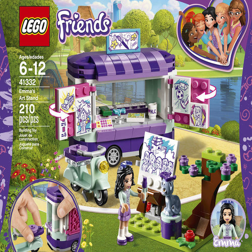 LEGO Friends Emma's Art Stand (210 Piece)