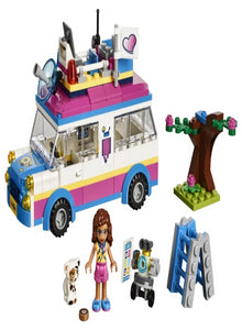 LEGO Friends Olivia's Mission Vehicle 41333 Building Set (223 Piece)