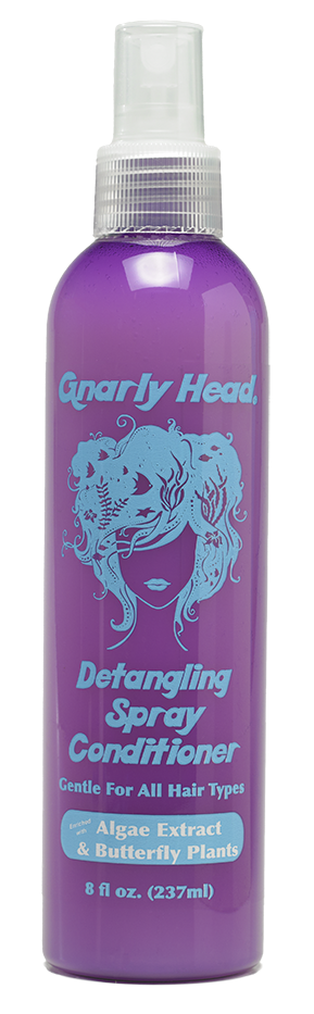 Gnarly Head Detangling Spray Hair Care. Tangle Free Hair Care. Dye Free. Pre-Dive. Post Dive Hair Care.